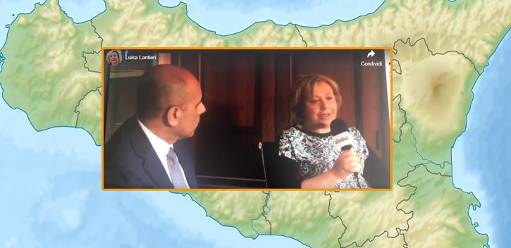 L'on. Luisa Lantieri ospite della trasmissione televisiva BarSicilia