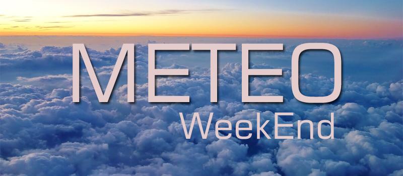Fine settimana con nuvole e temperature gradevoli