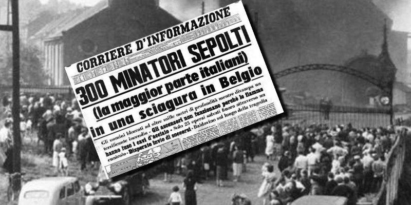 """Domani 8 agosto ricorrere la """"Giornata del sacrificio del lavoro italiano nel mondo"""""""