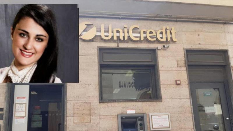 "Agira – Cristina Valenti: ""L'Unicredit di Agira non è in chiusura"""