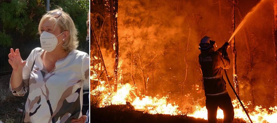 L'On. Luisa Lantieri: un disegno di legge per il contrasto e la prevenzione degli incendi boschivi