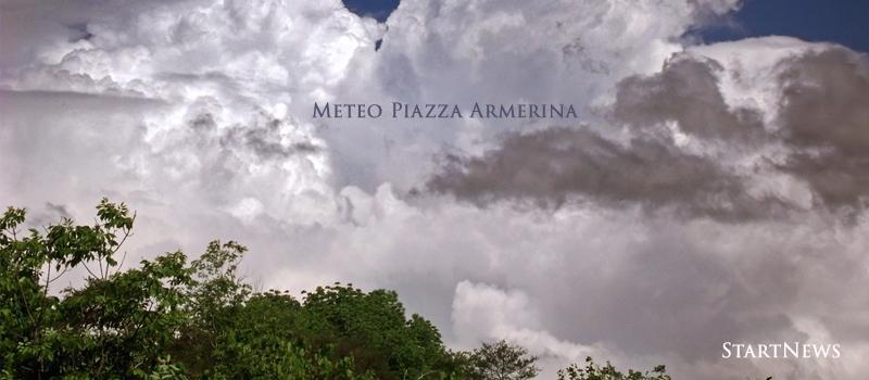 Meteo Piazza Armerina, inizio settimana all'insegna delle nuvole