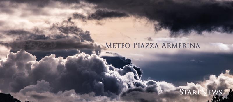 Piazza Armerina – Meteo: piogge e celi nuvolosi per i prossimi giorni. Temperature in calo