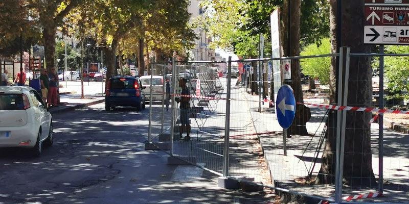Piazza Armerina – Transennata piazza Pio La torre, a breve l'inizio dei lavori di qualificazione