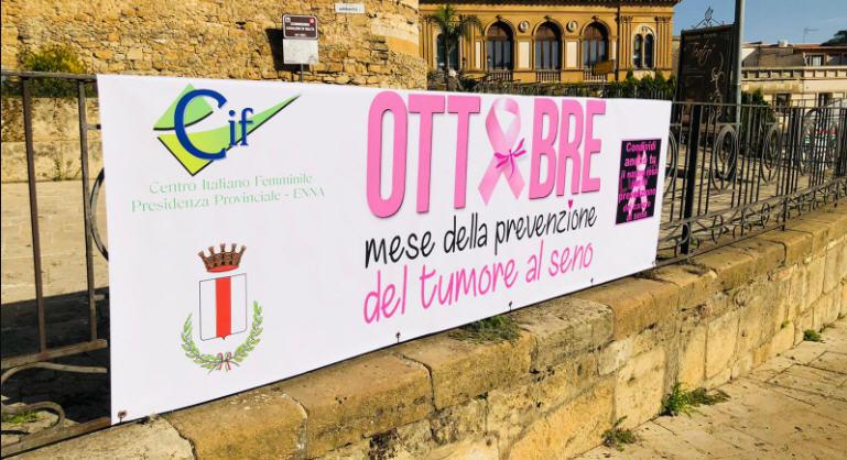 Piazza Armerina – Opera di sensibilizzazione del CIF per la prevenzione e la diagnosi precoce dei tumori al seno