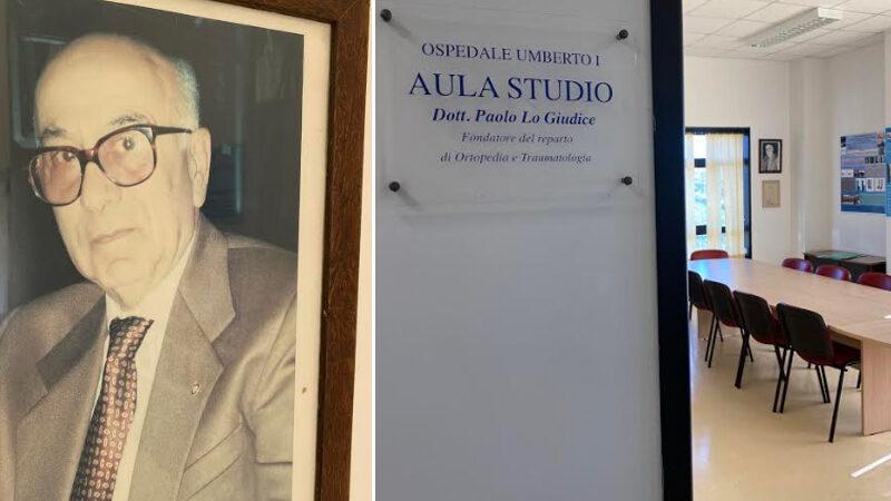 Enna – Inaugurazione biblioteca in memoria del dott. Paolo Lo Giudice.
