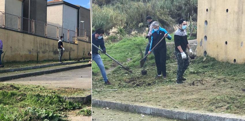 Il sindaco Draià sulla riqualificazione delle aree verdi