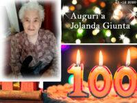 Piazza Armerina – La signora Jolanda Giunta compie oggi cento anni
