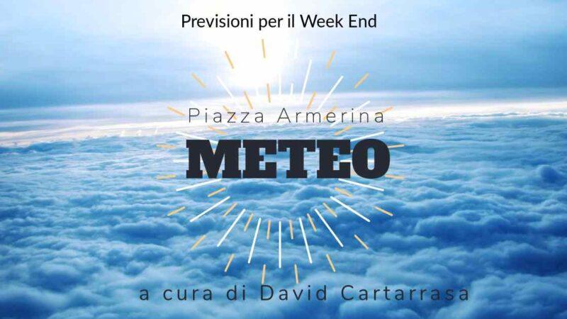 Meteo Piazza Armerina – Weekend all'insegna del sole e delle temperature primaverili