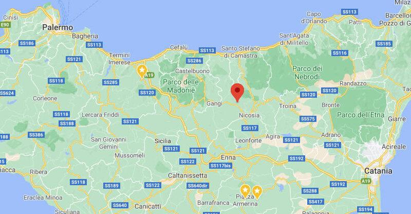 Sperlinga – Terremoto di magnitudo 3.2 alle 17:38