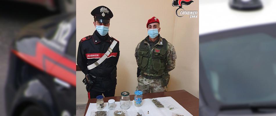 Lotta allo spaccio di droga: arrestato un uomo a Piazza Armerina
