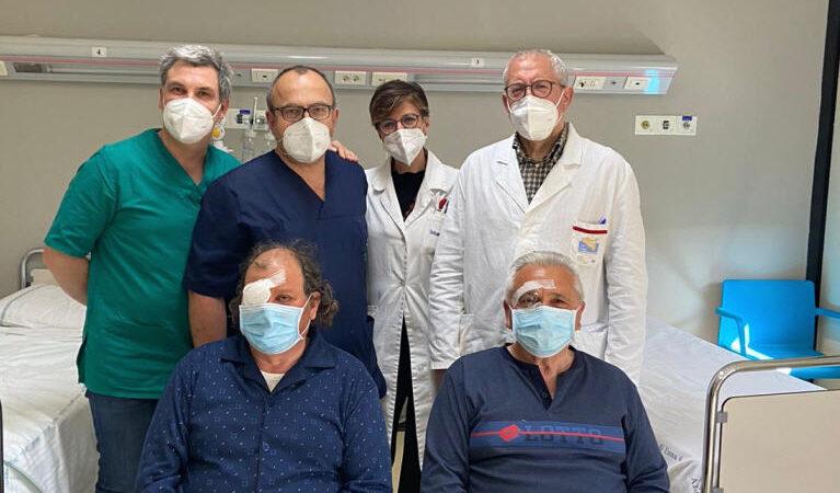 ASP Enna. Effettuati due trapianti di cornea all'Umberto I di Enna.