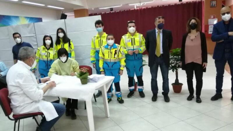 Assp Enna – Avviata la campagna di vaccinazione di prossimità