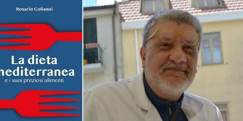 """Volume """"La dieta mediterranea"""", autore Rosario Colianni, responsabile Medicina Scolastica ASP Enna"""
