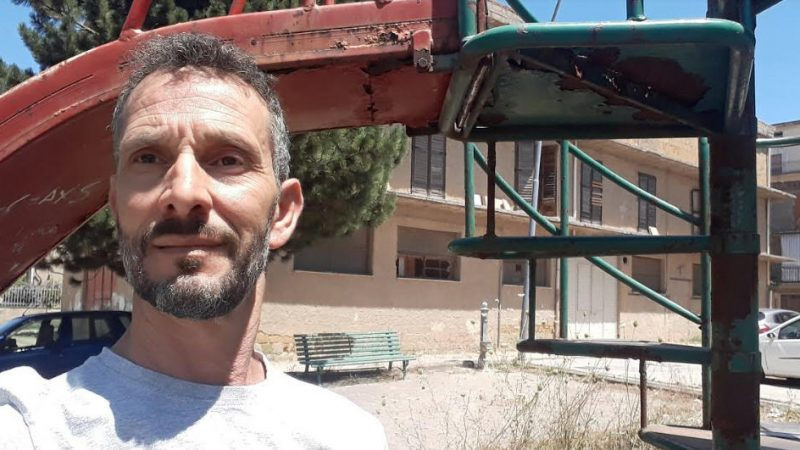 Piazza Armerina – Il consigliere Totò Cimino segnala una zona di degrado.