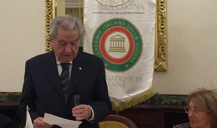 """Enna – Riprendono le attività dell' Accademia Italiana della Cucina. Domani verrà assegnato il premio """"Dino Villani"""""""