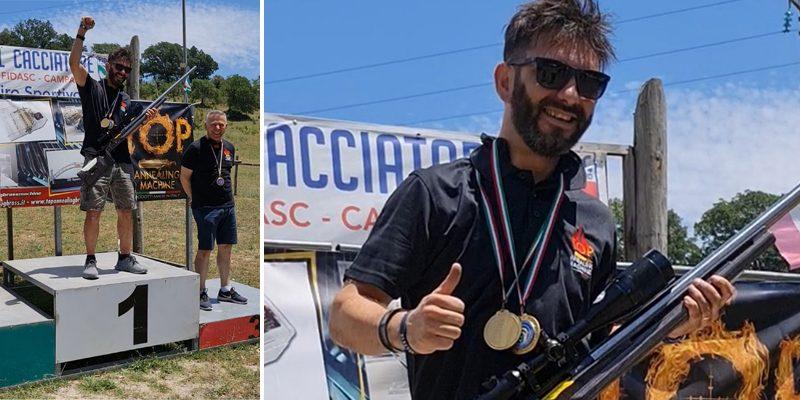 Sport – Il piazzese Salvatore Piazza  al primo posto nel girone campano di tiro Lunga Distanza UITS