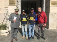 Piazza Armerina – Le guardie venatorie a difesa dei boschi.