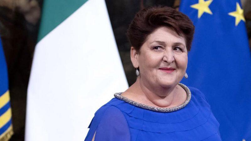 """Sp 28 """" Panoramica"""". Sopralluogo con la vice ministro Teresa Bellanova"""