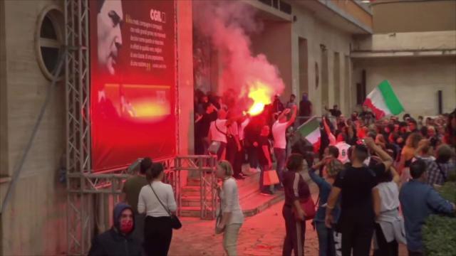 CISL: solidarieta' alla CGIL per il riprovevole attacco di Roma
