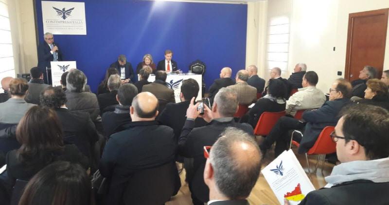 """Enna: nasce """"Confimpresaitalia"""". Pres. Nazionale Luigi Manganiello """"Grande oportunità per le imprese siciliane"""""""