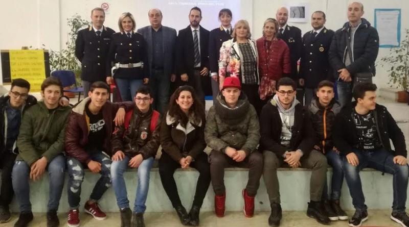 ASP Enna. Incontro sulla sicurezza stradale  con gli studenti del Majoarana-Cascino di Piazza Armerina