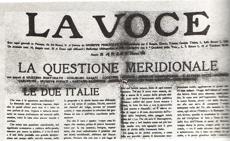 """IL SUD, la Questione meridionale tra storia e letteratura"""" della tarantinaLuisa Catapano"""