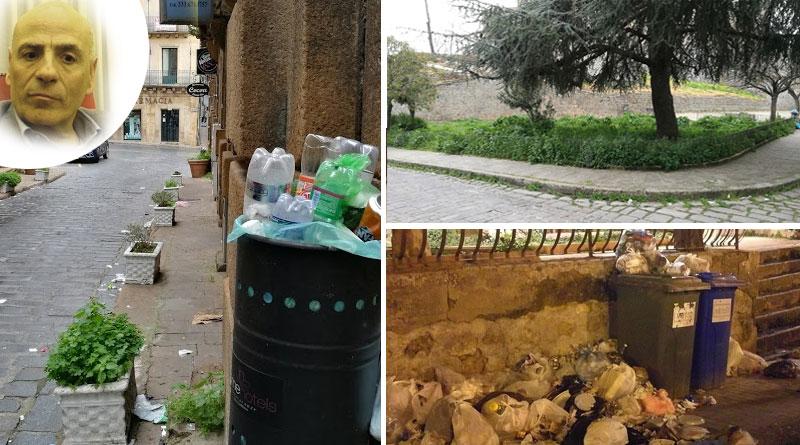 Piazza Armerina – Miroddi riconsegna ai piazzesi una città sporca e abbandonata a se stessa