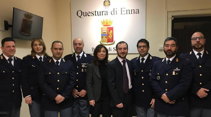 Enna, assegnati in provincia i nuovi Vice Ispettori della Polizia di Stato.