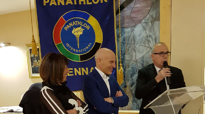 Il Panathlon club di Enna premia il socio campione italiano master di atletica leggera, il piazzese Ettore Rivoli