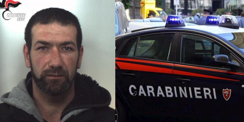 Arrestato dai Carabinieri per evasione un 36enne di Sperlinga