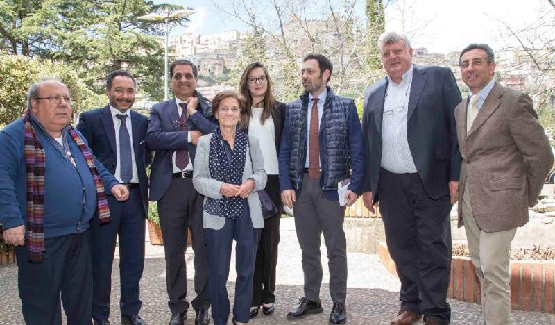 L'assessore regionale alla salute Ruggerro Razza in visita all' Irccs Oasi Maria SS. di Troina
