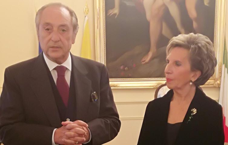 Il mecenate Emmanuele Emanuele presidente onorario  della Casa d'Europa di Enna