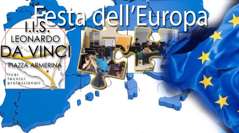 Piazza Armerina –  La festa dell'Europa all'I.I.S Leonardo Da Vinci . Intervista alla Dirigente Marinella Adamo