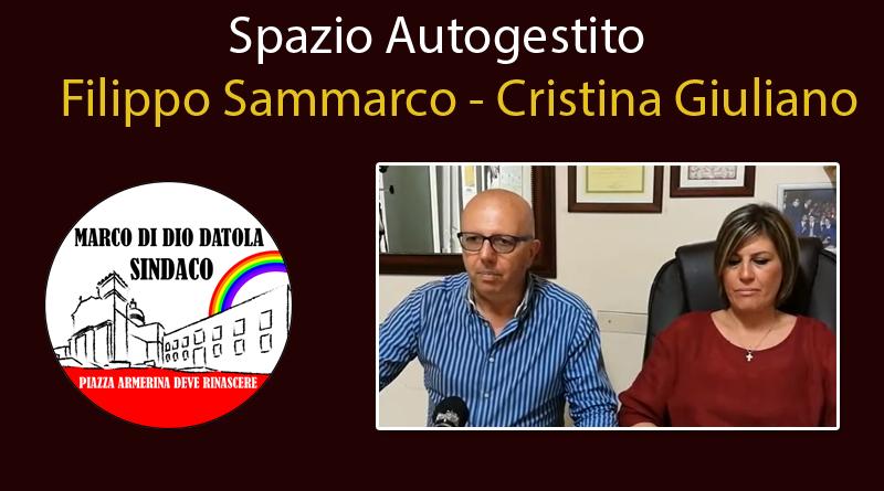 Piazza Armerina – Elezioni comunali. Cristina Giuliano e Fillippo Sammarco .