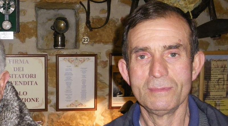 In ricordo di Franco Lo Monaco, un minatore dal cuore d'oro innamorato di  Piazza Armerina