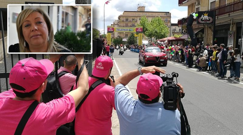 """L'On. Luisa Lantieri : """"Il Giro d'Italia in provincia di Enna un obiettivo di cui andrò sempre fiera"""""""