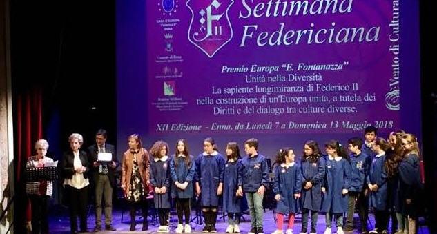 """Settimana federiciana 2018  Premio Europa """"Edoardo Fontanazza"""": tutti i vincitori"""