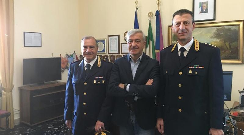 Enna – In Questura due nuovi commissari della Polizia di Stato: Giuseppe ANZALONE ed Angelo ZODA.
