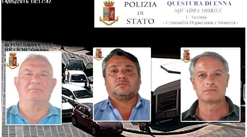 """Aidone (En): """"Operazione Ottagono"""":tre arresti"""