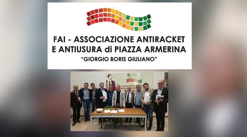 """Piazza Armerina – Nino Romano dell'associazione antiracket smentisce """"La Sicilia"""": incontro con i candidati produttivo."""