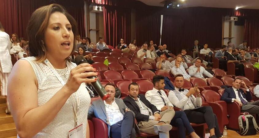 Il sindaco di Valguarnera Francesca Draià a Chieti per l'assemblea ANCI Giovani