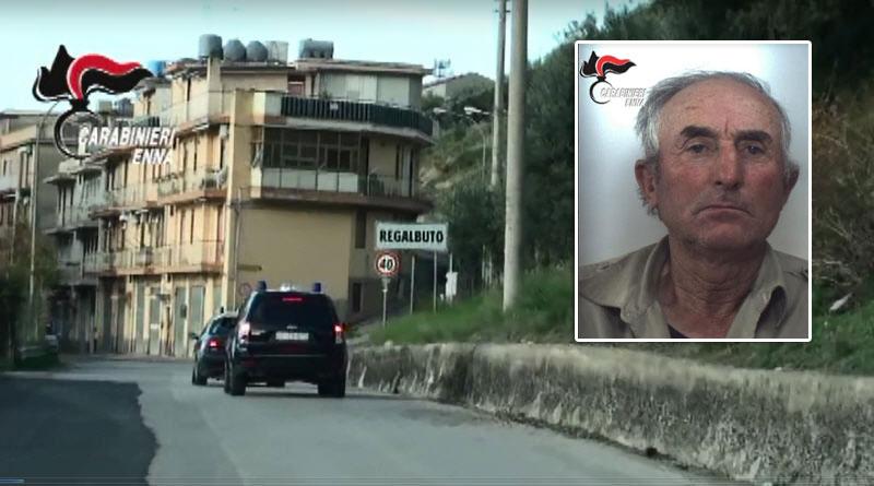 Regalbuto – Arrestato allevatore: ritrovate armi nascoste nella sua abitazione
