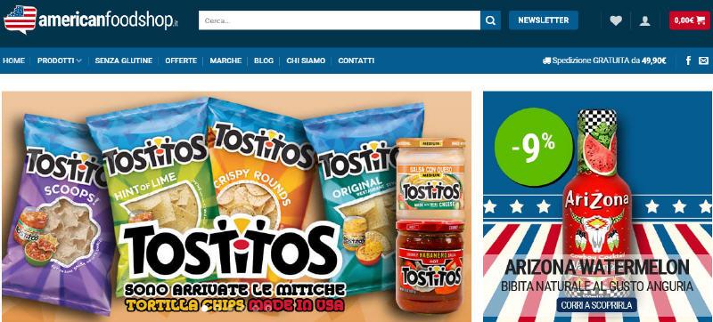 Cresce in Italia il numero di vendite online nel settore food