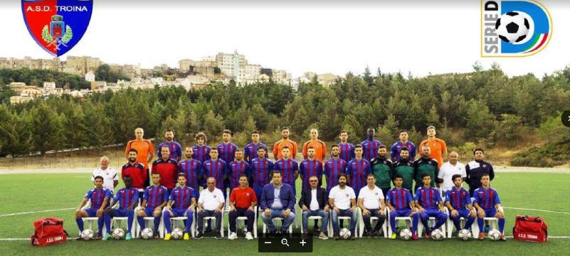 L'A.S.D. Troina calcio in serie D