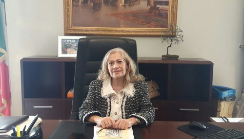 Oggi si è insediato a Palazzo del Governo il nuovo Prefetto di Enna, dr.ssa Maria Antonietta Cerniglia.