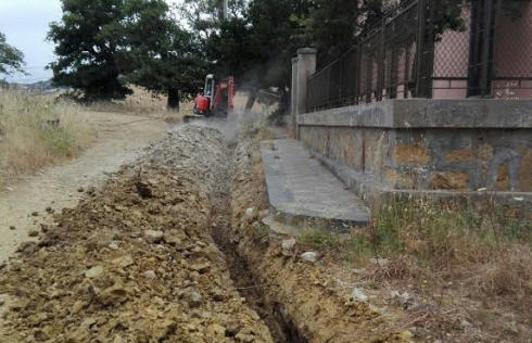 """Troina – Avviati i lavori per l'ampliamento dell'acquedotto rurale """"Cardone – Castagna"""""""