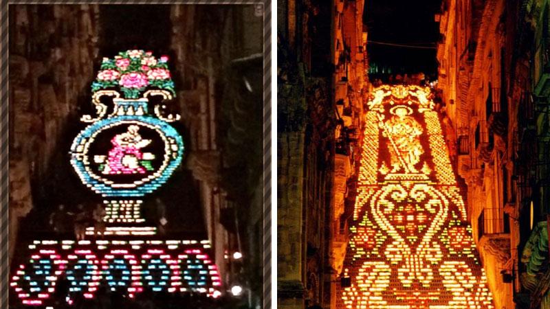 """Caltagirone – Il  24 e il  25 luglio la magia de """"La Scala illuminata"""", spettacolo unico al mondo"""