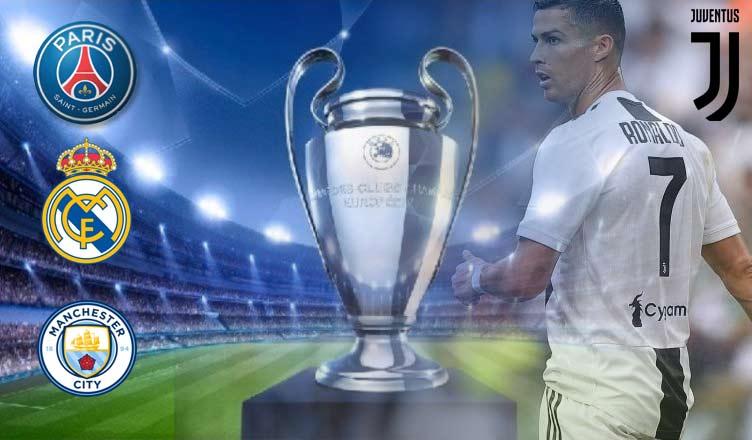Champions League 2018/19: l'incognita Real Madrid con Juve, City e PSG alla finestra