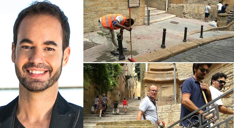 Piazza Amerina, iniziativa da mecenate: la scalinata di Sant'Anna sarà abbellita a spese dall'assessore Damiano Gallo
